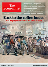 Photo: The Economist cover: Worldwide ex UK edition. July 9th 2011