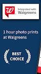 screenshot of Photo Print: Photo Gifts Card, Poster, Canvas