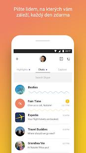 Skype – bezplatné rychlé zprávy a videohovory