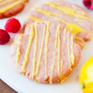 Raspberry Lemonade Cookies.
