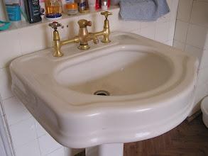 Photo: C4020014 Krynica - zabytkowa umywalka w 'Patrii'