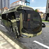 Bus Driver 3D: Army Duty Sim
