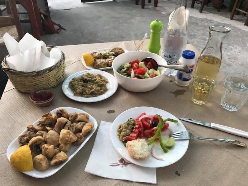 Grieks eten en restaurants.