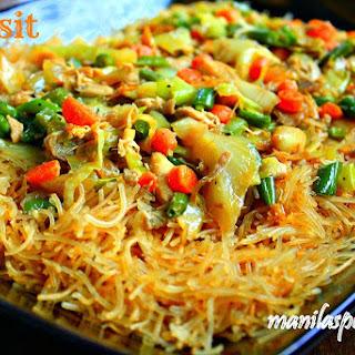 Pancit (Philippine Noodle Dish)