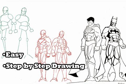 How to Draw Comic Superheroes