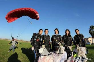 Photo: L'équipe de VR4 féminin avec Marin Ferre en vidéo