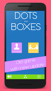 Dots and Boxes game - náhled