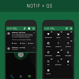 Leaf – PA/CM11 Theme 2.6.6 APK with Mod + Data 3