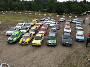 Photo: Die Schottercup Autos Bild: Lutz Steinbach