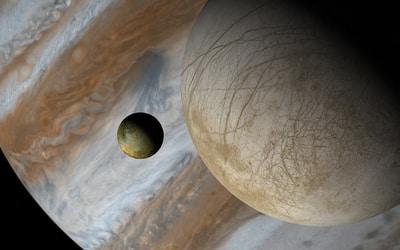 Europa e Io aparecen en este 'retelling' de Simmons sobre La Ilíada.