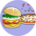Pizza and Hamburgers Recipes Offline icon