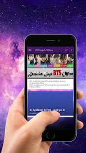 Download BTS Mp3 Offline Terlengkap For PC Windows and Mac apk screenshot 5