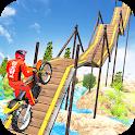 Crazy Bike Racing Stunt 3D icon