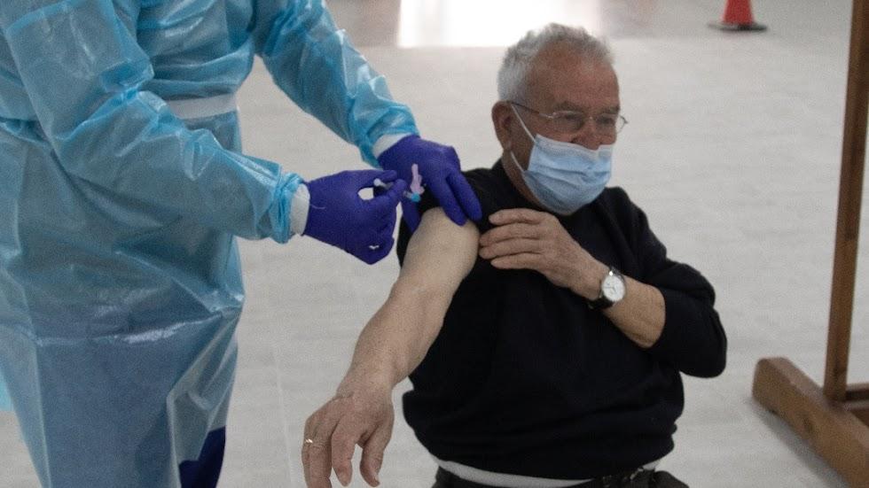 Vacunación en Albox.