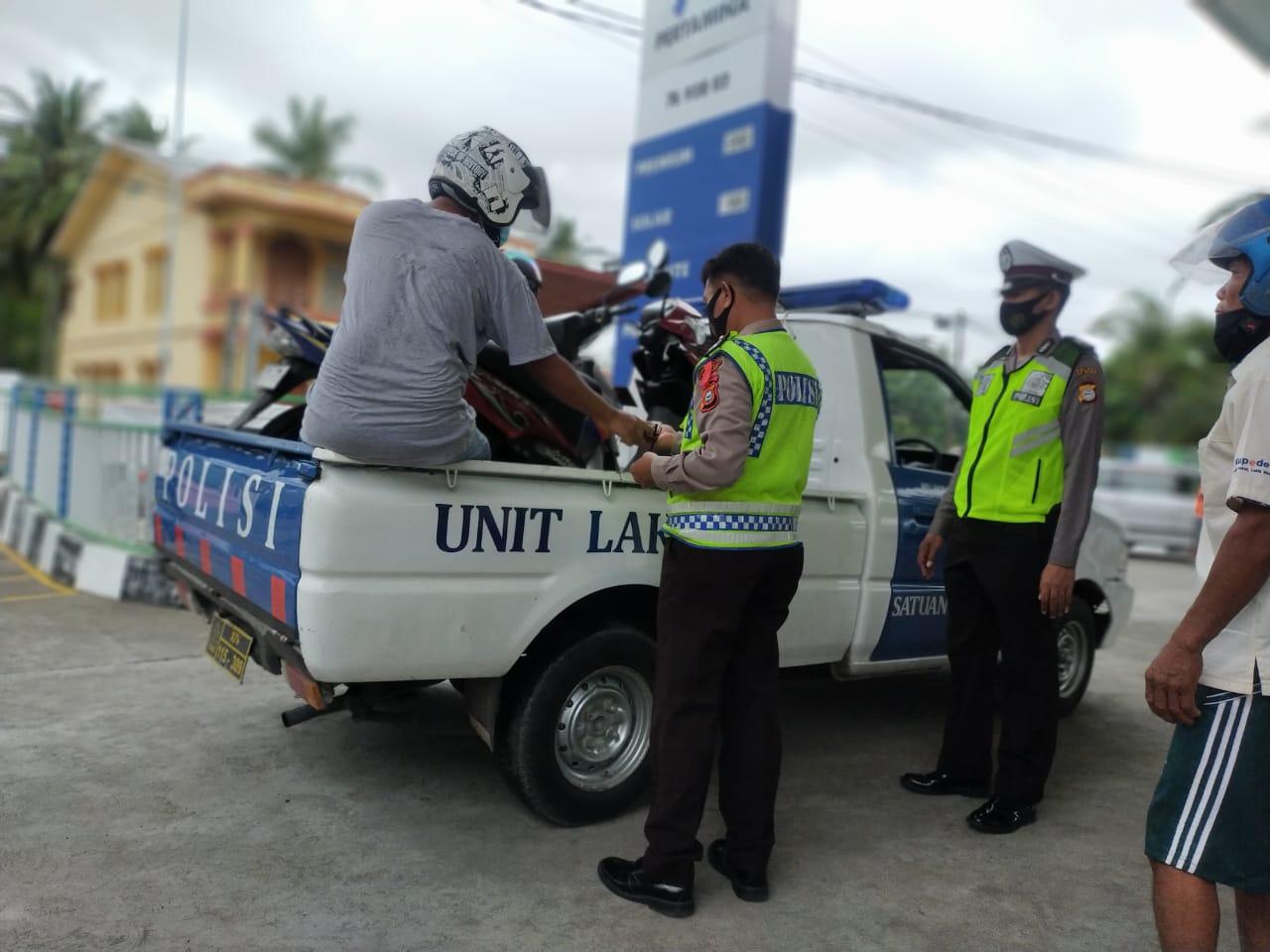 Sejumlah Motor Bertangki Besar Diamankan Polisi dari Lokasi APMS