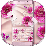 Rose Butterfly Jewery Keyboard Icon