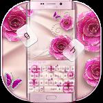 Rose Butterfly Jewery Keyboard Icon