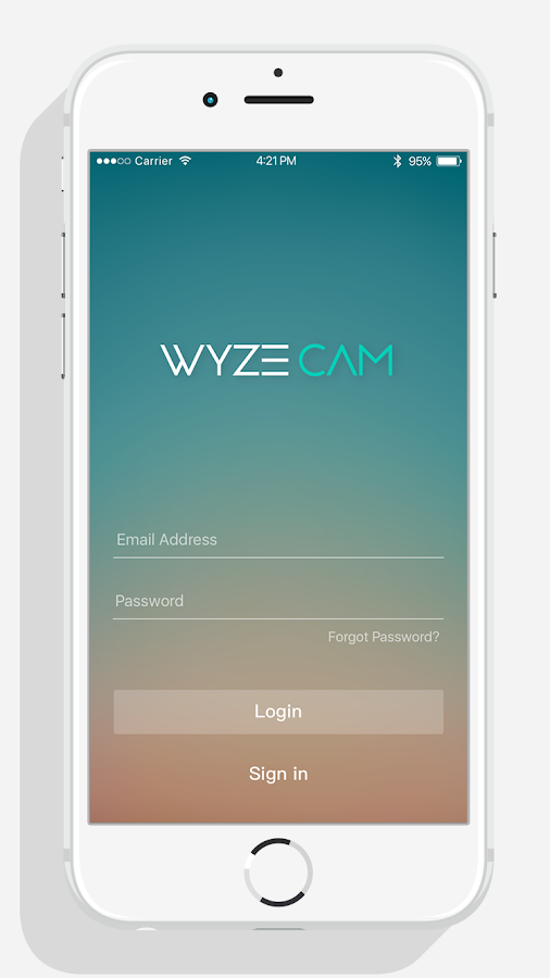 Wyze- screenshot