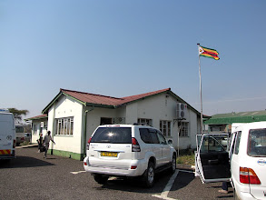 Photo: Kazungula border crossing to Zimbabwe