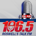 106.5 Roswell's Talk FM icon