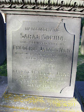 Photo: 29-(S) Sarah Sophia, wife of F.J.N., died January 19 1871, aged 23 yearsFrances Jane, only daughter, died October 27th 1880, aged 18 years
