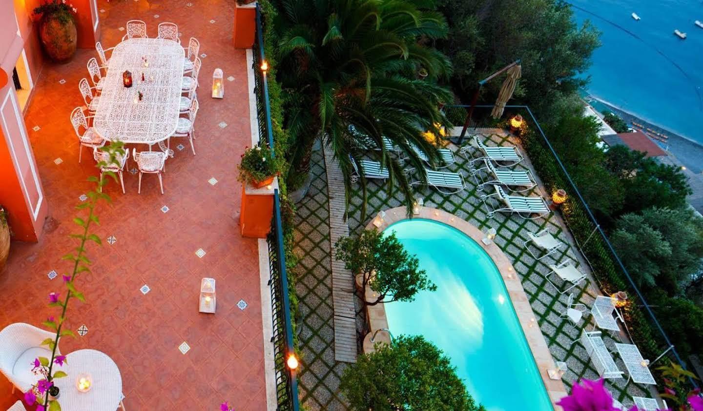 Villa avec jardin et terrasse Positano