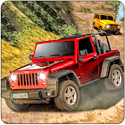 Offroad Dangerous Jeep Uphill Adventure icon