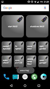 Hot Button  SSH Command Widget screenshot 1