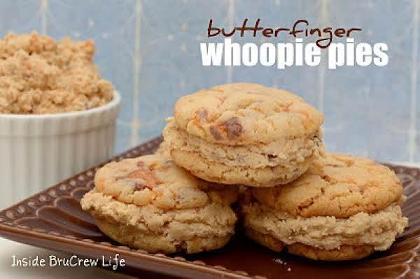 Butterfinger Whoopie Pie