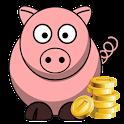 Counter Money - Dollar icon