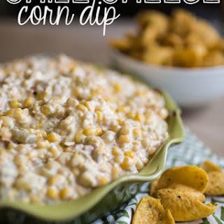 Green Chile & Cheese Corn Dip