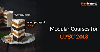 UPSC CSE Module Courses for General Studies & Optional Subjects
