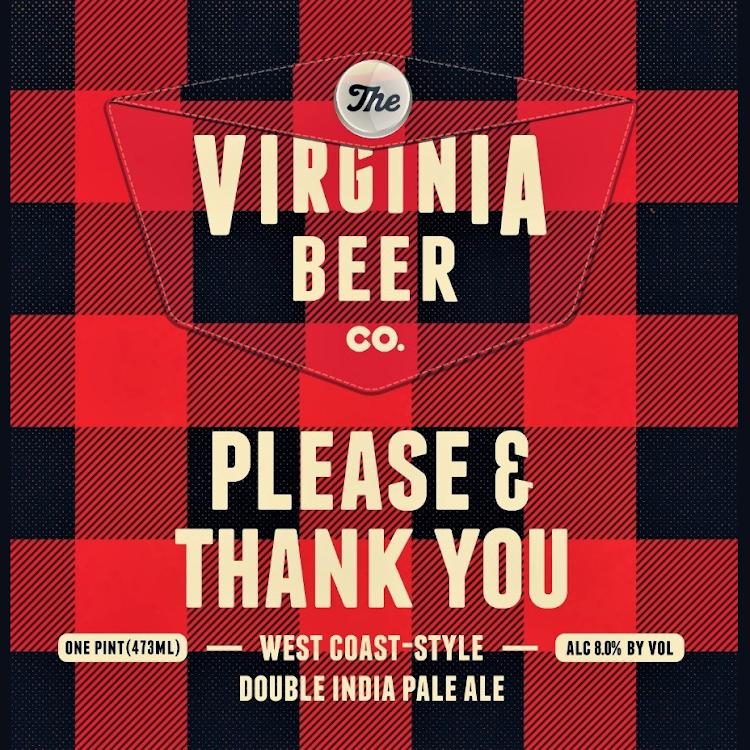 Logo of Virginia Beer Co. Please & Thank You