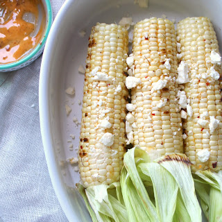 Seasoned Grilled Corn on the Cob.