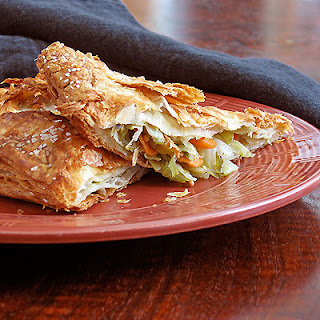 Bewitching Cabbage and Carrot Turnovers