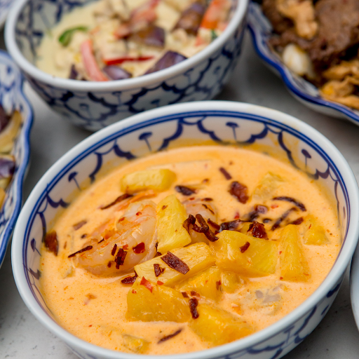 Pineapple Shrimp Curry
