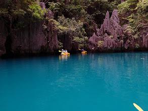 Photo: Small Lagoon, Miniloc Island, Palawan, Philippines.
