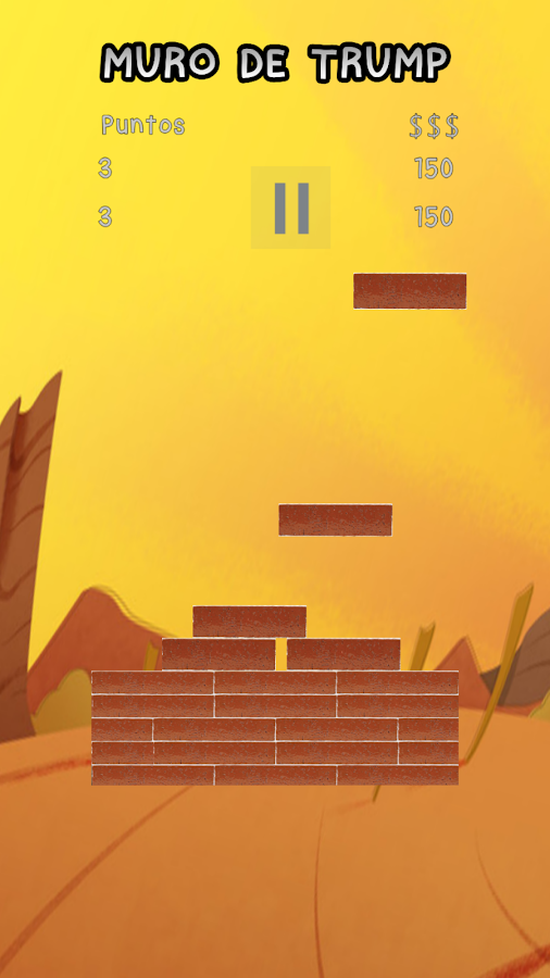 TRUMP WALL- screenshot