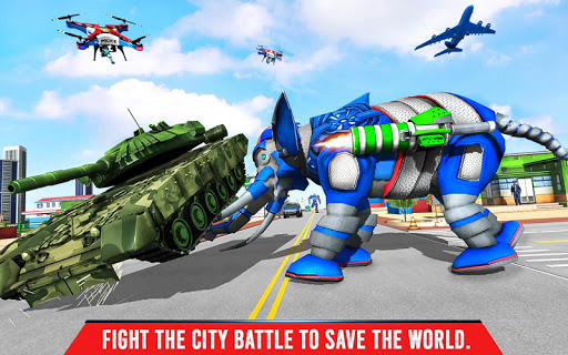 Police Elephant Robot Game: Police Transport Games 1.0.1 15