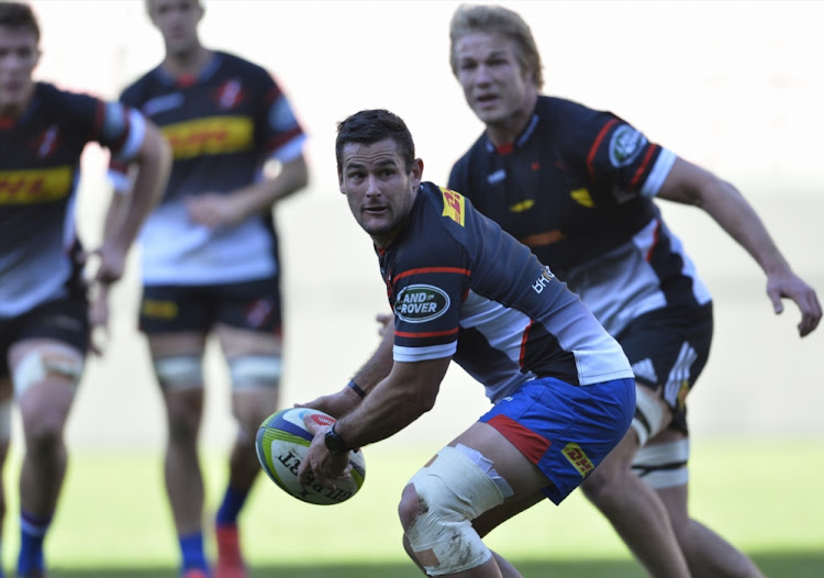 Joshua Stander during the DHL Stormers training session and press conference at DHL Newlands Stadium.