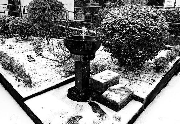 la fontanella del villaggio di lugiube