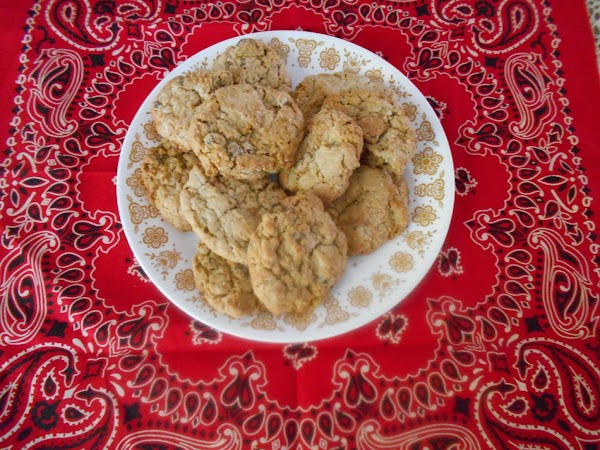 In a large bowl combine the oats, flour, salt,   baking powder, baking soda,...