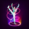 Spiral Photo Editor - Instasquare Drip Art,Collage icon