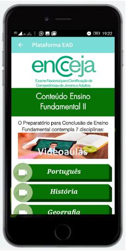 Foto do ENCCEJA 2019 online