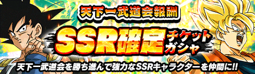 SSR確定(通常ガチャ産)ガチャ