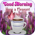 Good morning messages and images Gif icon