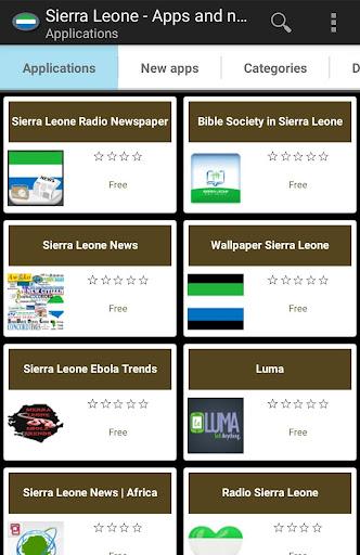 Sierra Leone apps