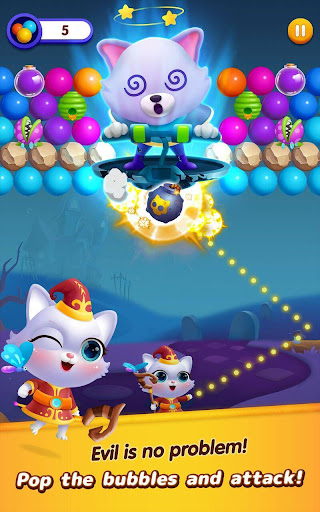Bubble Shooter: Cat Island Mania 2020 1.08 screenshots 1
