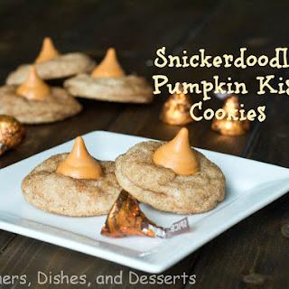 Snickerdoodle Pumpkin Kiss Cookies.