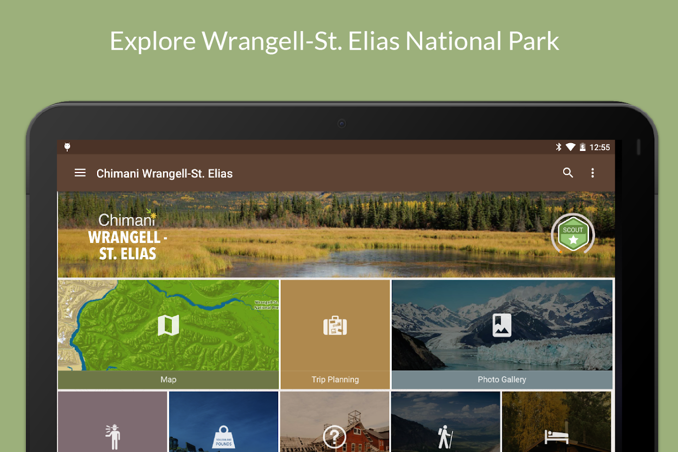 Wrangell-St Elias NP Chimani- screenshot